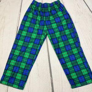 Boy's Plaid Pajama Pants